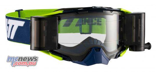 Leatt Goggles Velocity Roll Off InkYel
