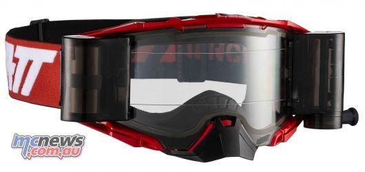 Leatt Goggles Velocity Roll Off RedWht