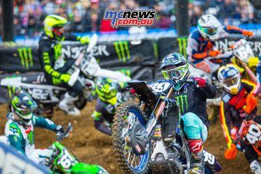 AMA SX Rnd Denver Nichols Starts JK SX Denver