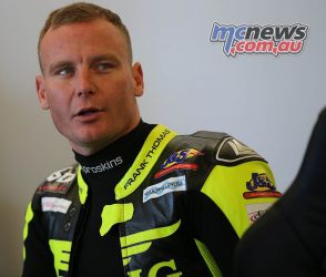 BSB Rnd Billy McConnell in the garage ImageDaveYeomans