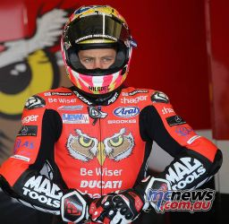 BSB Rnd Josh Brookes on his way out ImageDaveYeomans