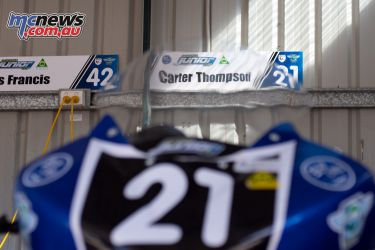OJC Round RbMotoLens Carter Thompson Bke pits
