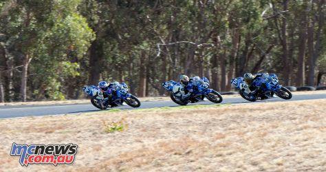 OJC Round RbMotoLens Start Race Restart First Corner