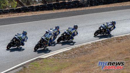 OJC Round RbMotoLens start Race