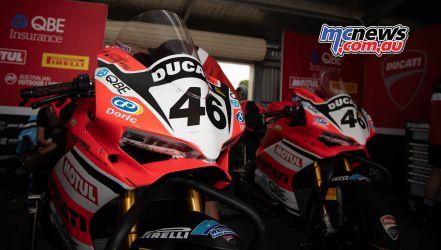 ASBK TBG ASBK Round Wakefield Park Desmo Ducati A