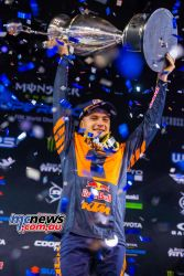 AMA Supercross FInal Cooper Webb Podium JK SX Vegas