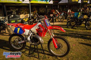AMA Supercross FInal Honda CR PIts JK SX Vegas