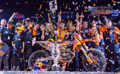 AMA Supercross FInal KTM Webb Podium JK SX Vegas