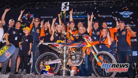 AMA Supercross FInal Webb Podium JK SX Vegas