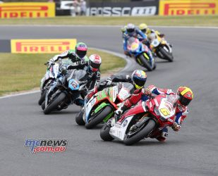BSB Round Snetterton Fores Barbera Mossey