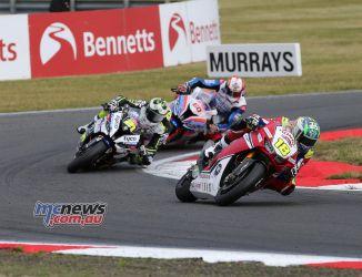 BSB Round Snetterton Irwin Iddon Hickman