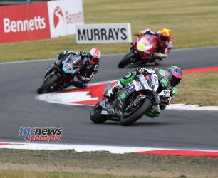 BSB Round Snetterton Michael Laverty Mossey Fores