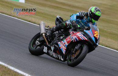 BSB Round Snetterton STK Shane Richardson