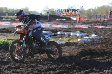 MX Nationals Moree Morgan Fogarty