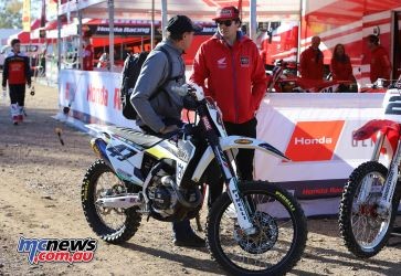 MX Nationals Moree Todd Waters Bike