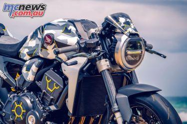 Wheels Waves Honda CBR adical