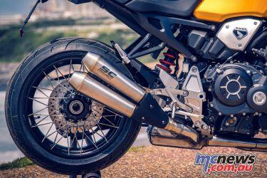 Wheels Waves Honda CBR Tribute