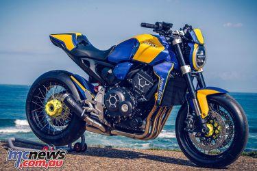 Wheels Waves Honda CBR Neo Sports Caf Endurance Team Replica