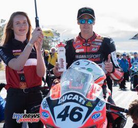 ASBK Rnd Morgan Park RbMotoLens SBK Race Mike JONES