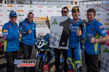 ASBK Rnd Morgan Park RbMotoLens SBK Race Wayne MAXWELL Team