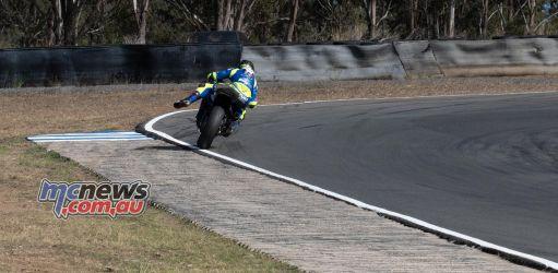 ASBK Rnd Morgan Park RbMotoLens SS Race Crash Reid Battye
