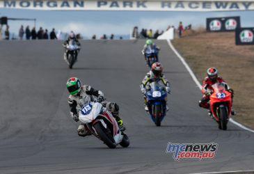 ASBK Rnd Morgan Park RbMotoLens SS Race Brad TRIVETT
