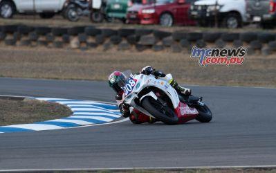 ASBK Rnd Morgan Park RbMotoLens SS Race John LYTRAS