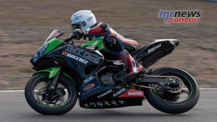 ASBK Rnd Morgan Park RbMotoLens SS Race Senna AGIUS Rear wheel