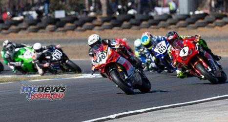 ASBK TBG ASBK Round Morgan Park SBK Race Start TBG