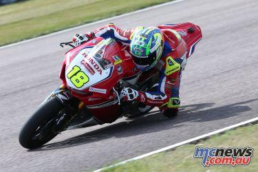 British Superbike BSB Rnd Thruxton Andrew Irwin