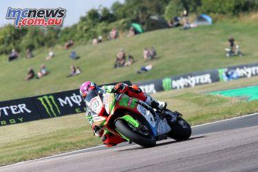 British Superbike BSB Rnd Thruxton Ben Currie AUYA