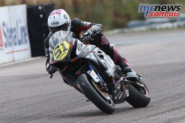 British Superbike BSB Rnd Thruxton Brayden Elliott AUYA