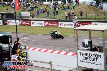 British Superbike BSB Rnd Thruxton Lee Jackson AROA