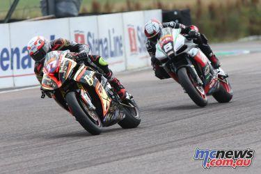 British Superbike BSB Rnd Thruxton Taylor MacKenzie AUYA