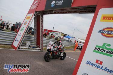 British Superbike BSB Rnd Thruxton Tommy Bridewell AROA