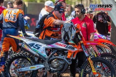 MX Nationals Coolum Ikap Mellross Mechanic