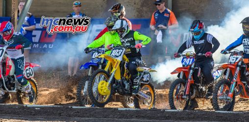 MX Nationals Coolum Ikap RM strokes