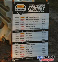 MX Nationals Rnd Coolum Schedule