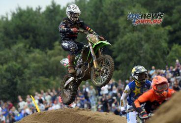MXGP Rnd Belgium Pirelli MX EMX VanDemoosdijk action