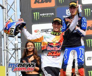 MXGP Rnd Belgium Pirelli MX Prado podium