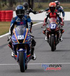 ASBK Rnd Winton R Cup Race Locky TAYLOR Max STAUFFER RBmotolens