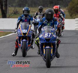 ASBK Rnd Winton R Cup Race Zac LEVY Locky TAYLOR RBmotolens