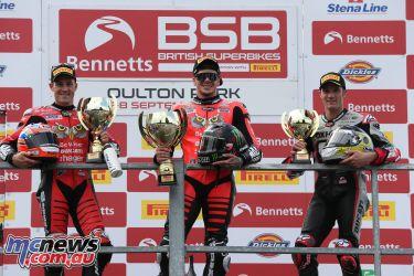 BSB Oulton Park R Race Podium AUYA