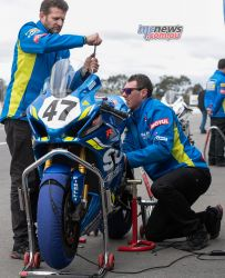 ASBK Rnd Winton RbMotoLens SBK Wayne MAXWELL Bike Pitlane Monson