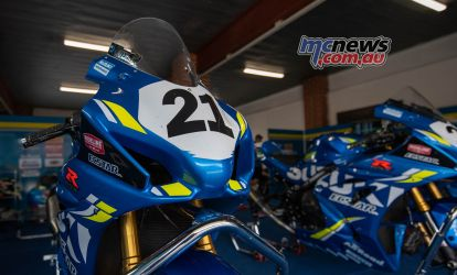 ASBK Rnd SMP RbMotoLens SBK WU Pits Josh WATERS Bike FinalRnd