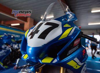 ASBK Rnd SMP RbMotoLens SBK WU Pits Wayne MAXWELL Bike FinalRnd