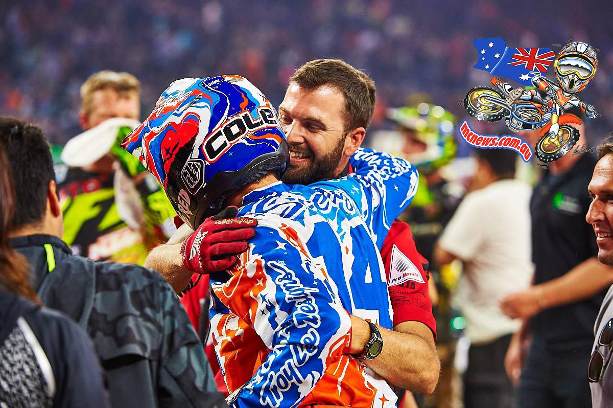 450SX Class Main Event winner in Houston, Cole Seely