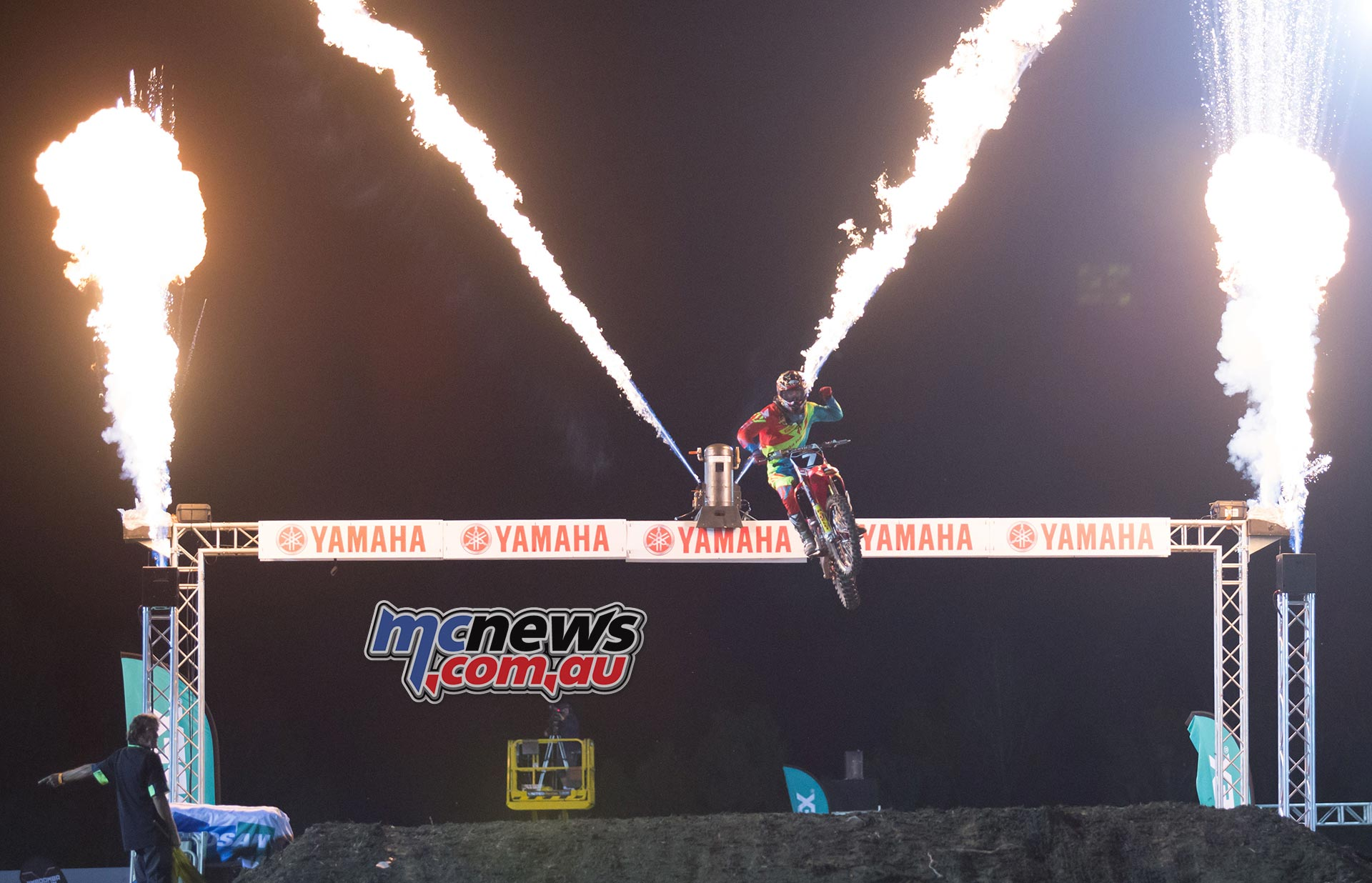 Australian Supercross 2016 - Round One- Image by Marc Jones - Gavin Faith