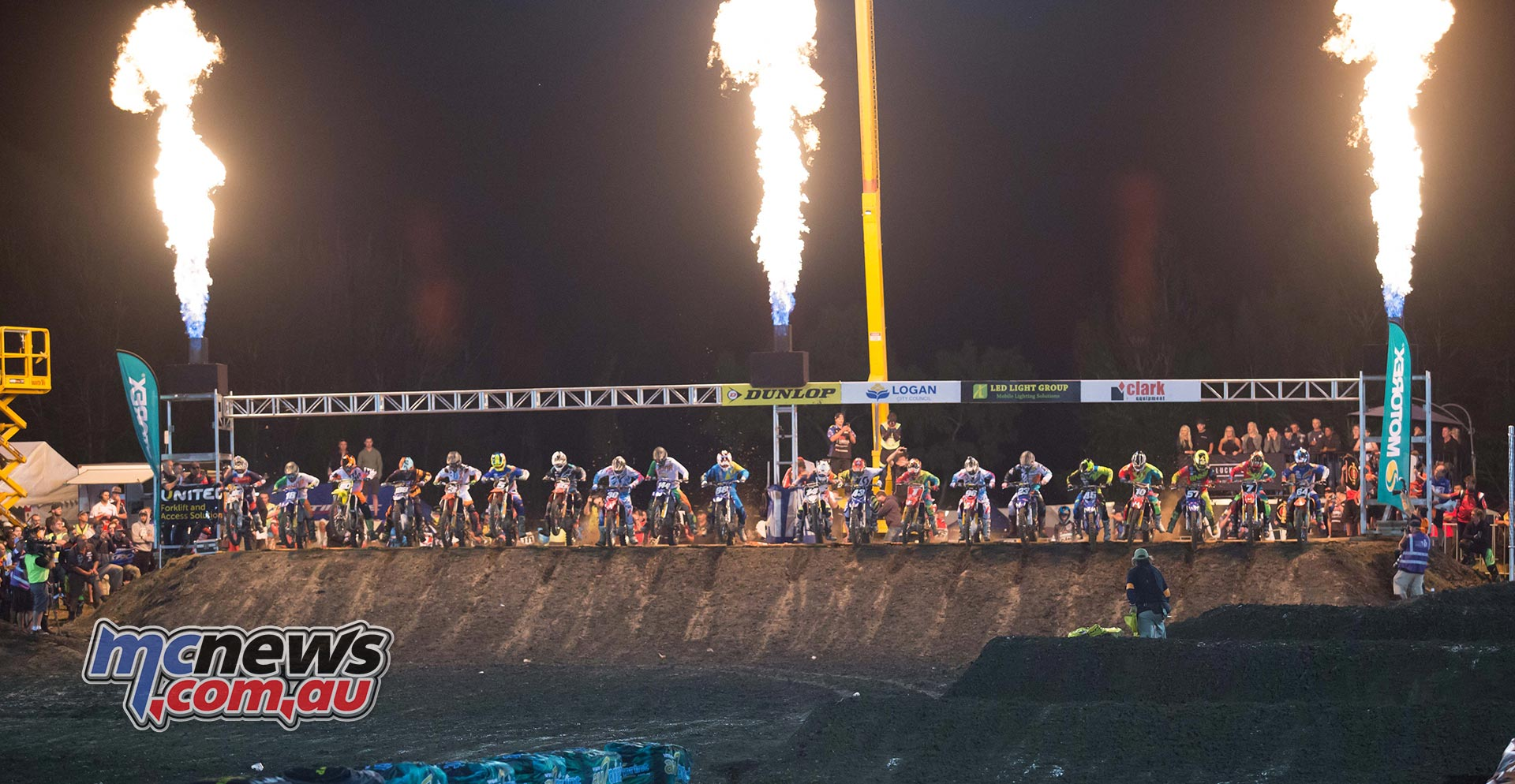 Australian Supercross 2016 - Round One- Image by Marc Jones