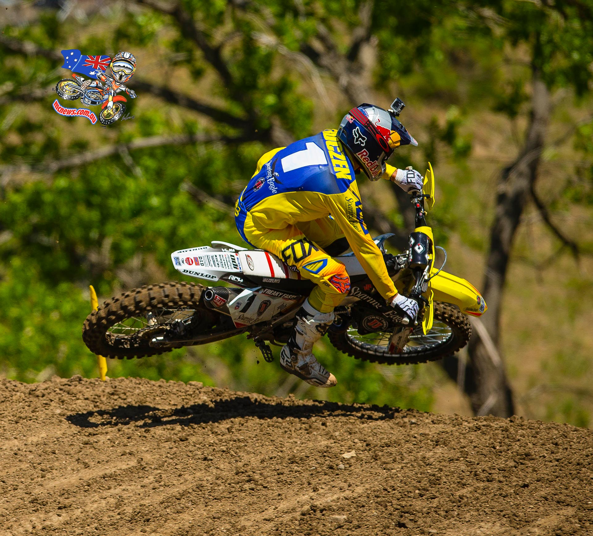 Ama Mx 2015 Thunder Valley Gallery C Bra Sport Jaring 8738 Motorcycle